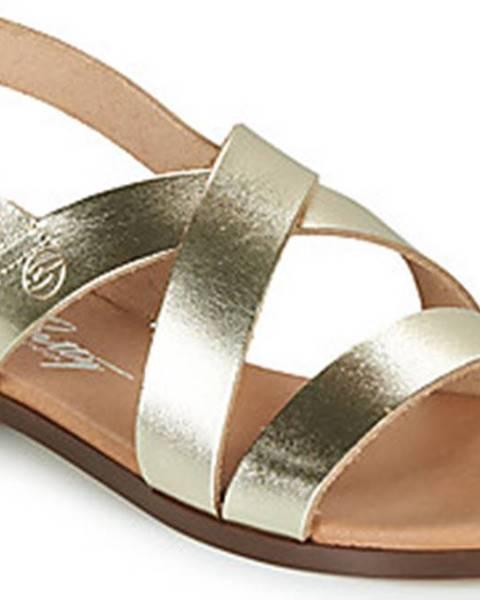 Zlaté sandály Betty London