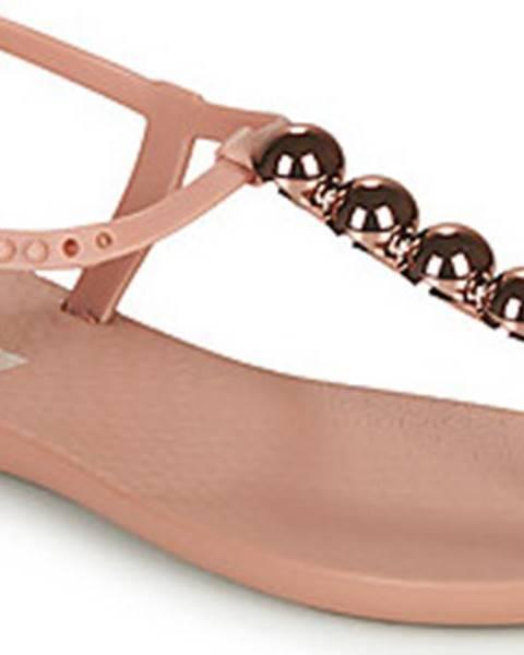 Růžové sandály ipanema