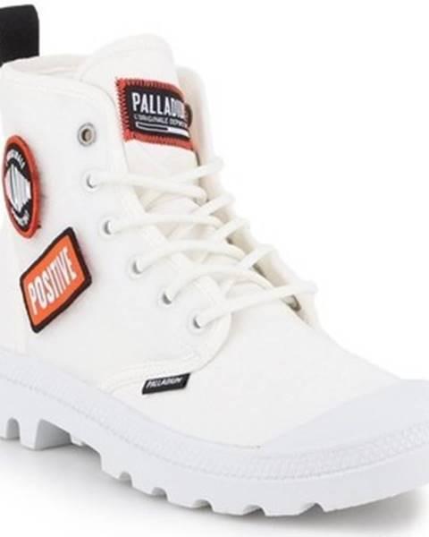 Bílé boty Palladium