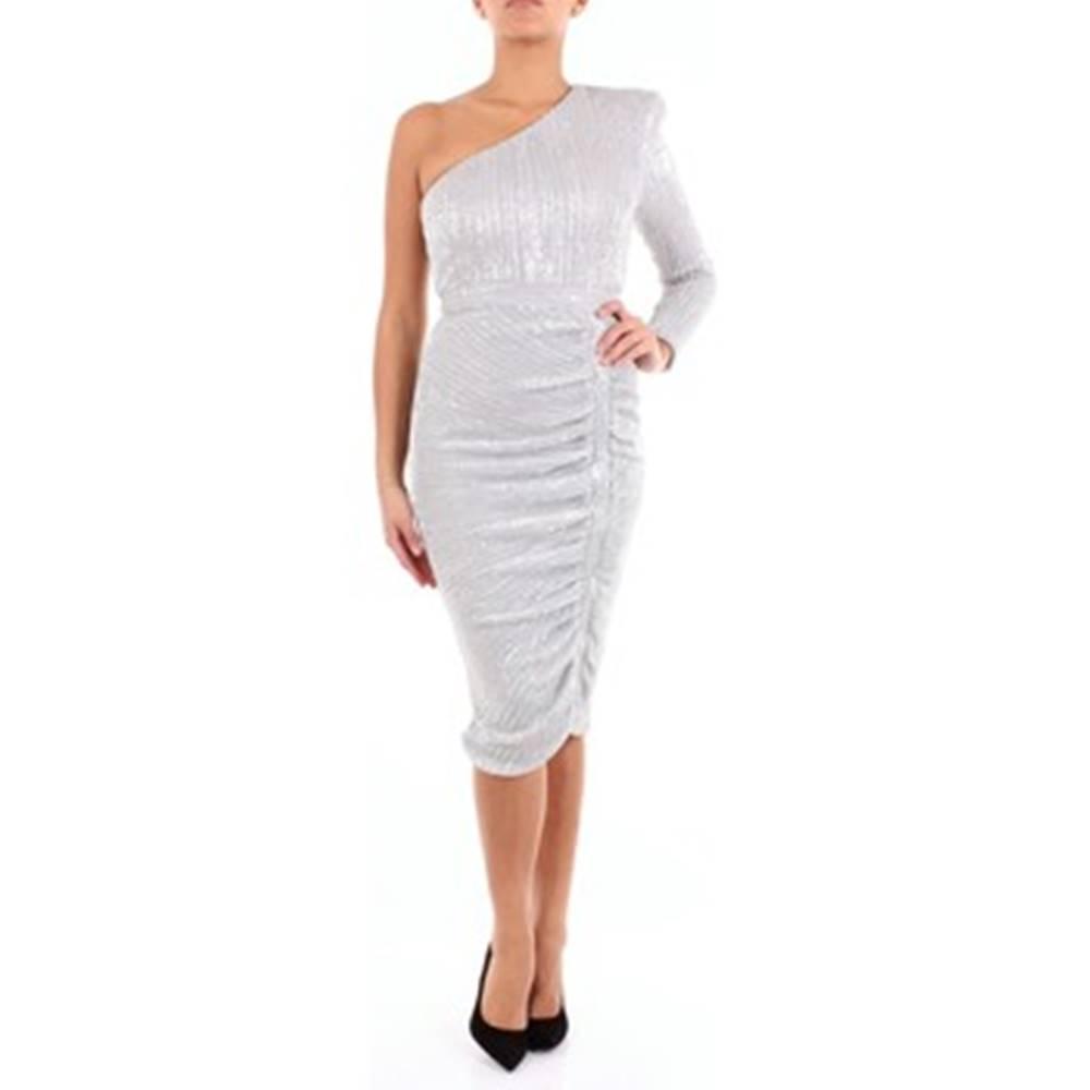 Lavish Alice Lavish Alice Společenské šaty 141DS08 Stříbrná