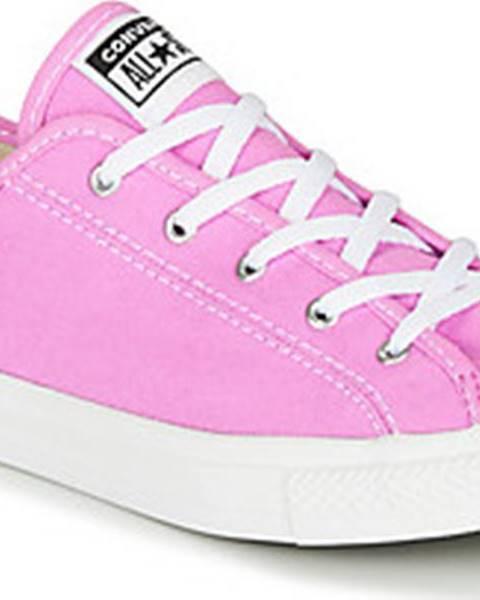 Růžové tenisky converse