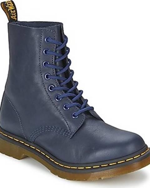 Modré boty Dr Martens