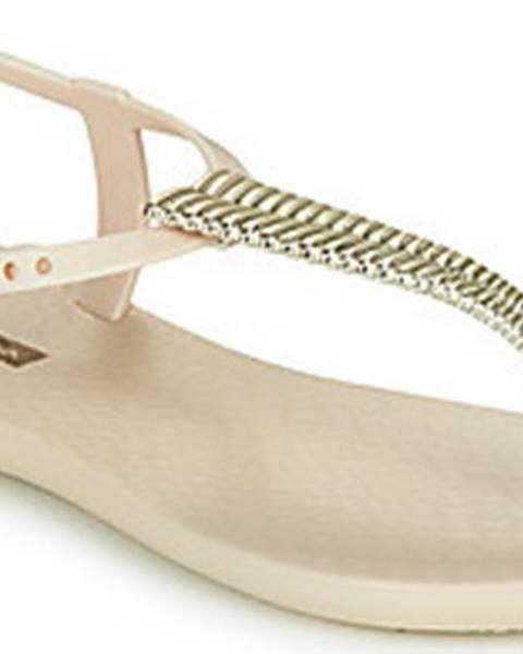 Zlaté sandály ipanema