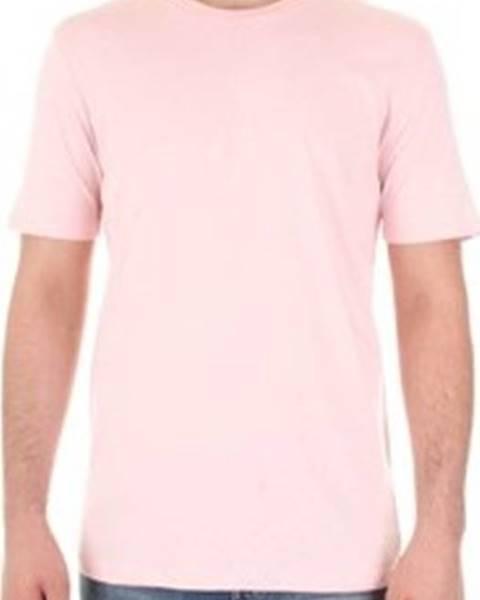 Růžové tričko SELECTED