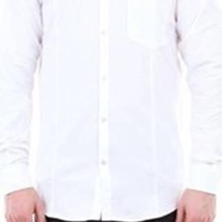Golden Goose Deluxe Brand Košile s dlouhymi rukáv G34MP522 Bílá