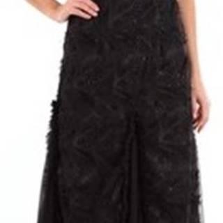 Le Piacentini Společenské šaty 89327 Černá