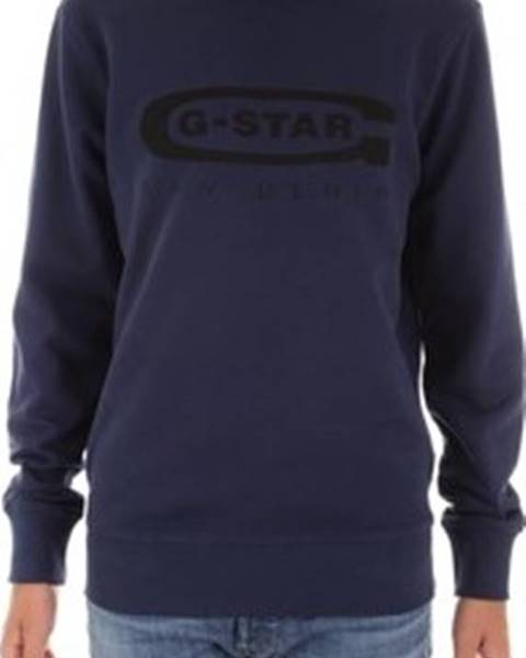 Modrá mikina G-Star RAW