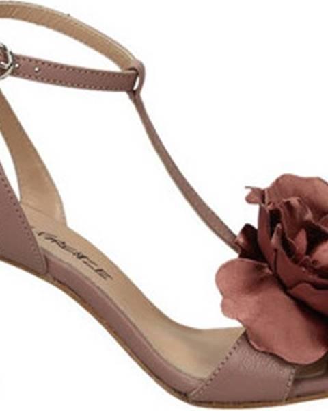 Červené sandály Lami Firenze
