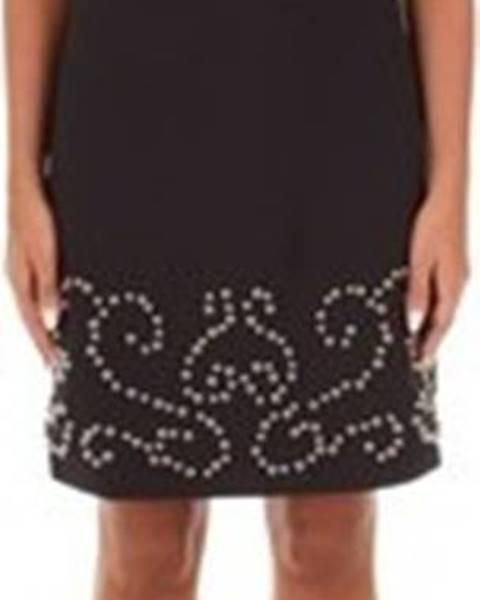 Černé šaty Sandro Ferrone