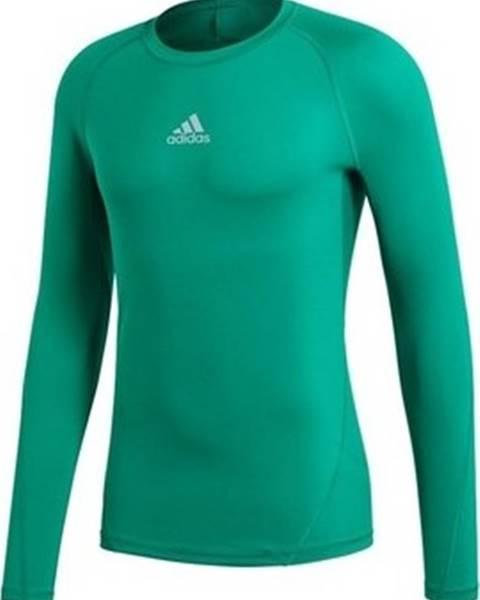 Zelené tričko adidas