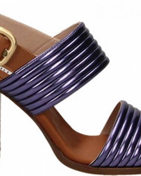 Fialové sandály Alberto Gozzi