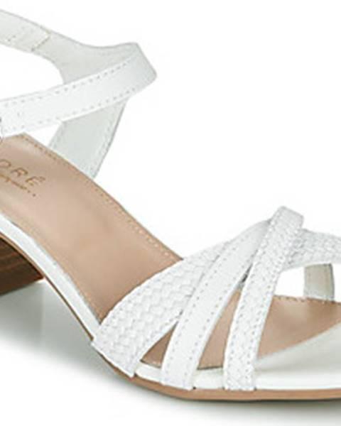 Bílé sandály André