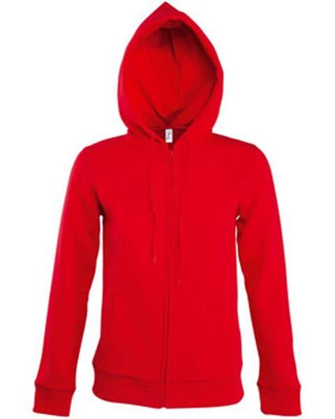 Červená bunda Sols