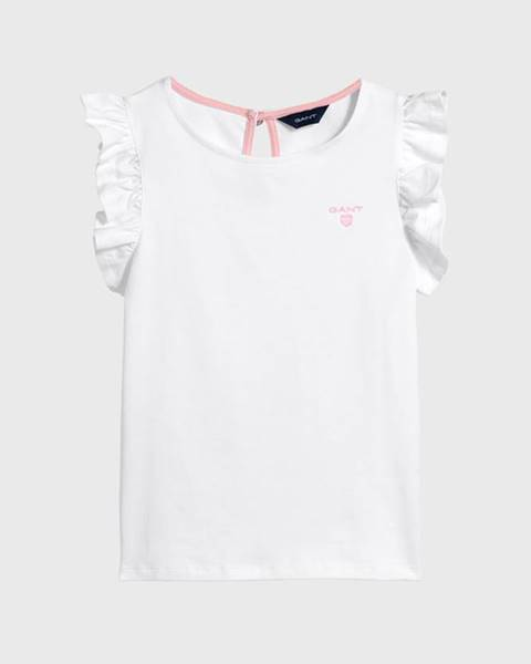 Bílé tričko gant