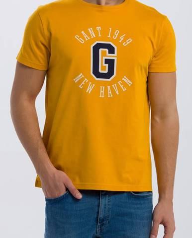 Žluté tričko gant
