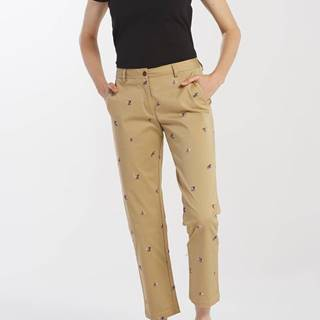 Kalhoty  D1. Embroidered Classic Chino