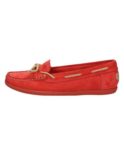 Červené boty gant