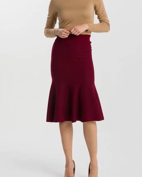 Červená sukně gant