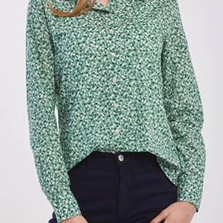Košile  D2. Summer Floral Cot Voile Shirt