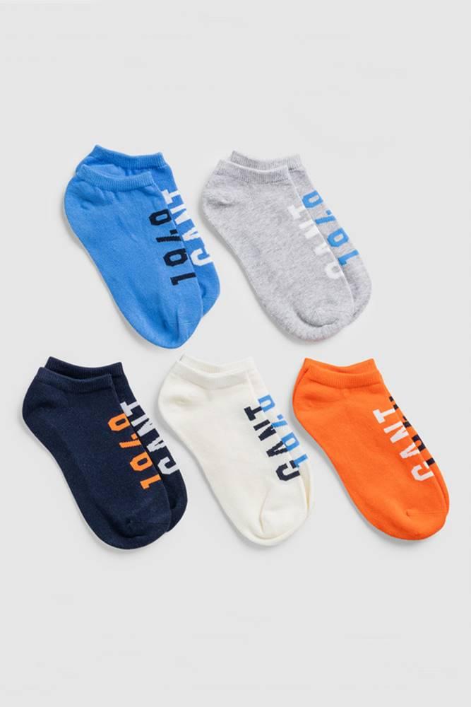 gant Ponožky  D1.  5-Pack Sneaker Socks