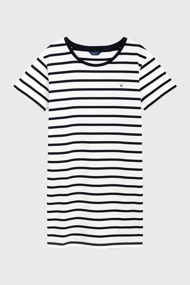 gant Šaty  D1. Tg Breton Striped Jersey Dress