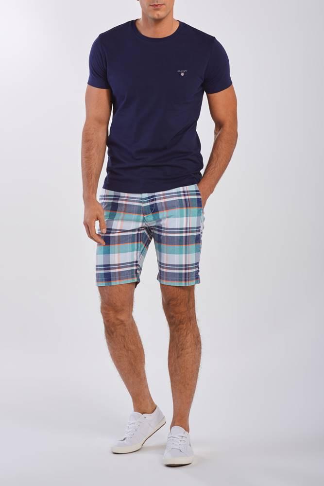 gant Šortky  D2. Regular Madras Shorts