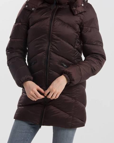 Hnědá bunda gant