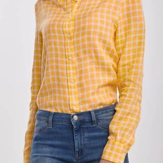 Košile  The Linen Chambray Gingham Shirt