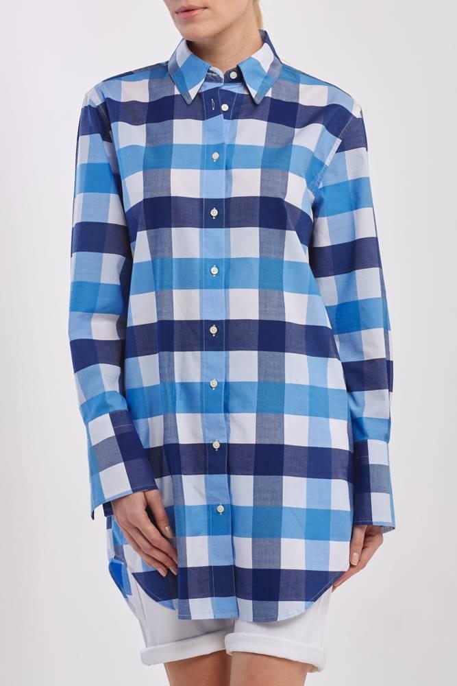 gant Košile  D1. Gbp Gingham Long Shirt