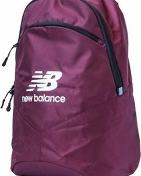 Fialový batoh new balance