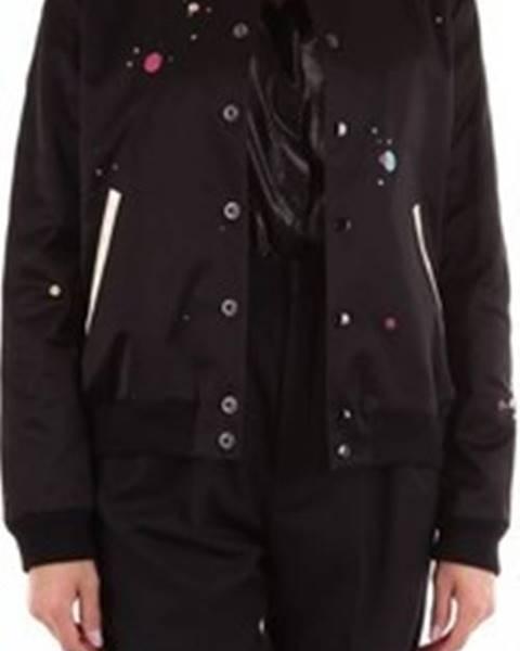 Černá bunda Saint Laurent