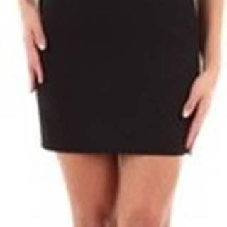 Saint Laurent Krátké šaty 576261Y012W Černá