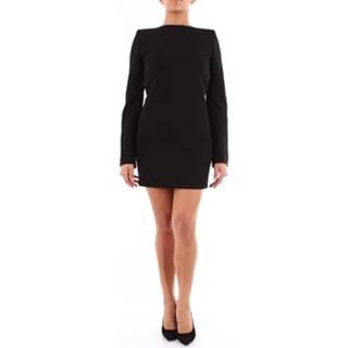 Saint Laurent Krátké šaty 595262Y024K Černá
