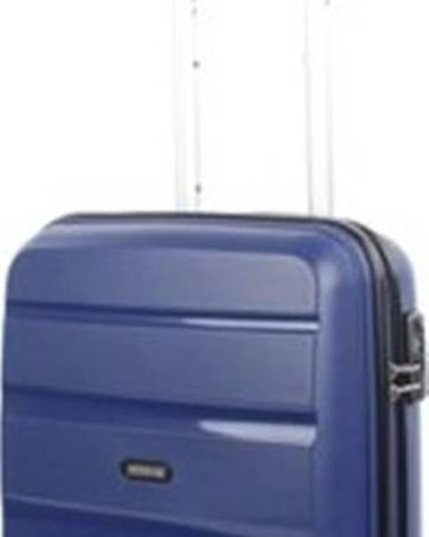 Modrý kufr American tourister
