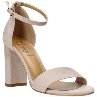 Grace Shoes Sandály 934G003 Růžová