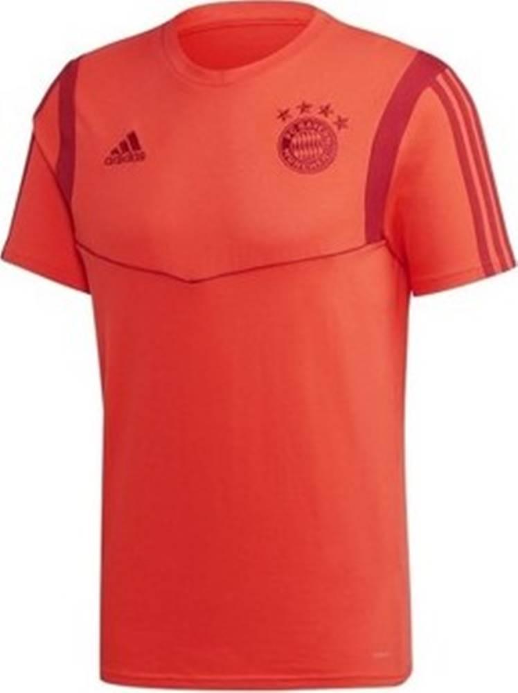 adidas adidas Trička s krátkým rukávem Bayern Monachium Tee Červená