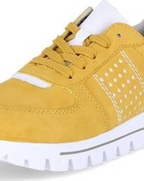 Žluté tenisky Rieker