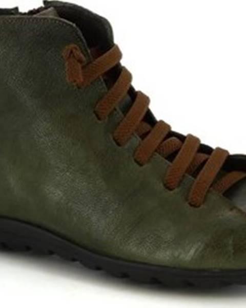 Zelené boty Leonardo Shoes