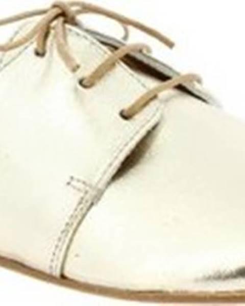 Zlaté polobotky Leonardo Shoes