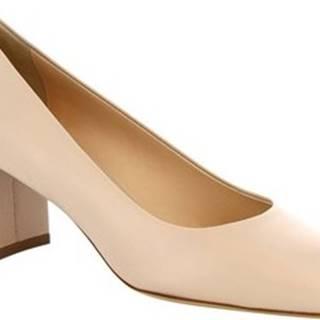 Leonardo Shoes Lodičky T60 NAPPA NUDE Béžová