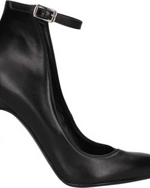 Černé boty Albano