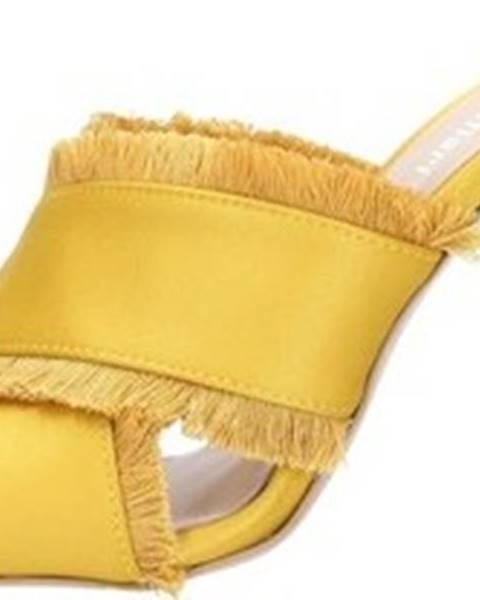 Žluté pantofle Alexandra/marta Mari
