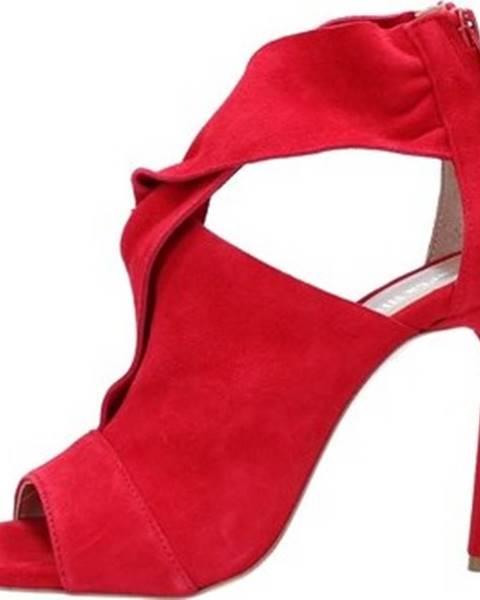 Červené sandály Alexandra/marta Mari
