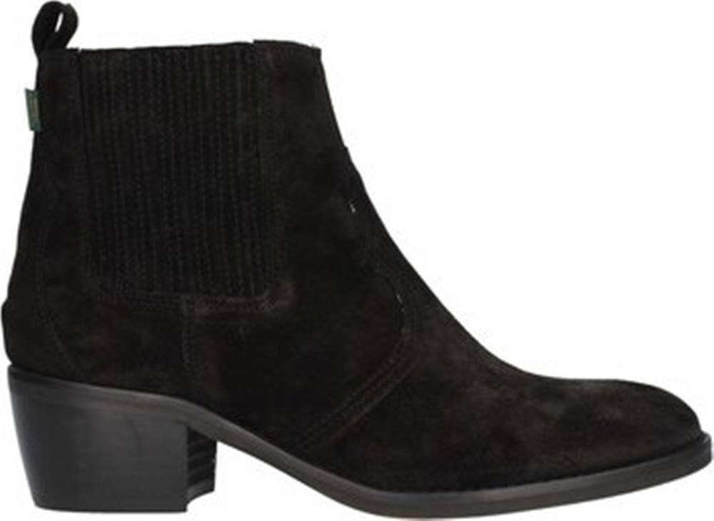 Dakota Boots Dakota Boots Kotníkové kozačky DKT73 Černá