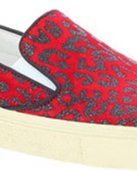 Červené boty Saint Laurent