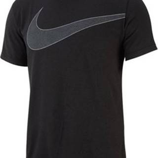 Nike Trička s krátkým rukávem Breathe Top SS Hyperdry Černá