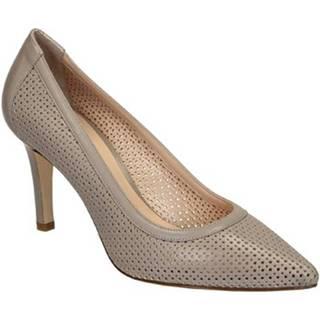 Leonardo Shoes Lodičky 54008 NAPPA CONCHIGLIA Béžová
