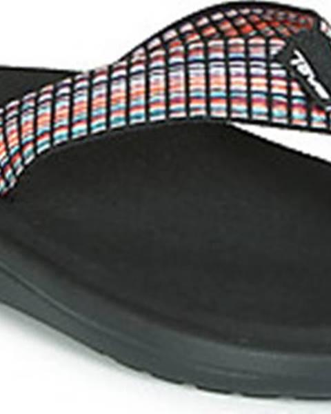 Černé sandály teva