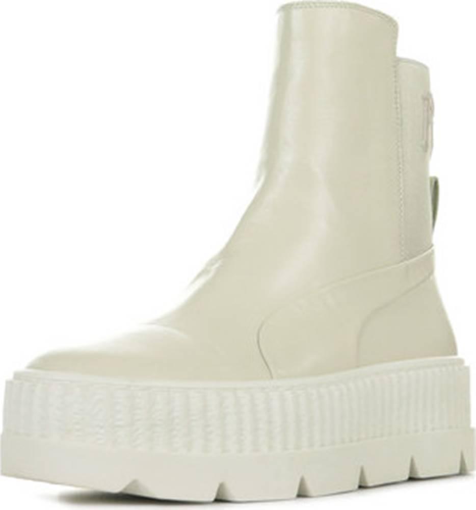 puma Puma Kotníkové kozačky Fenty Rihanna Chelsea Sneakerboot Wn's Béžová