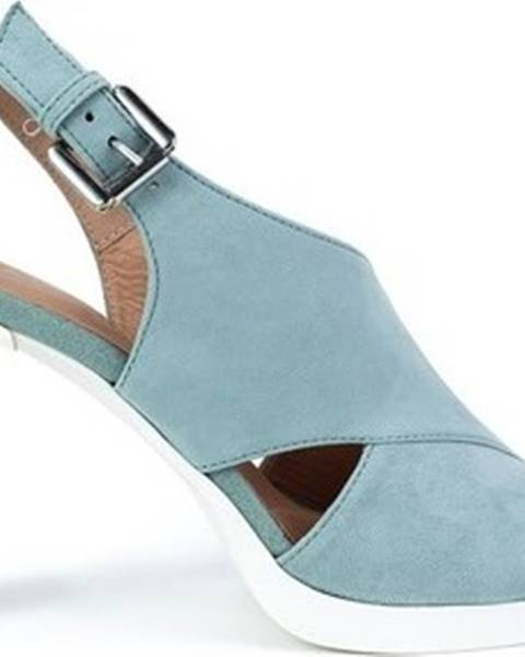 Modré sandály geox